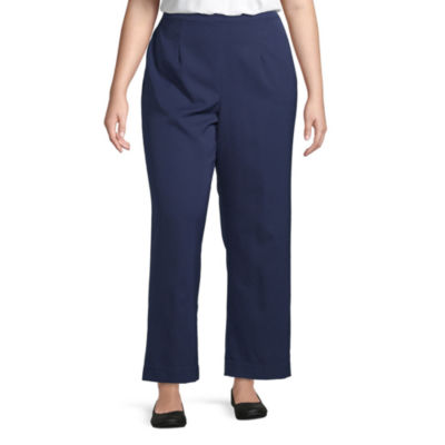 Alfred Dunner Cote D'Azur Pull On Pant - Plus