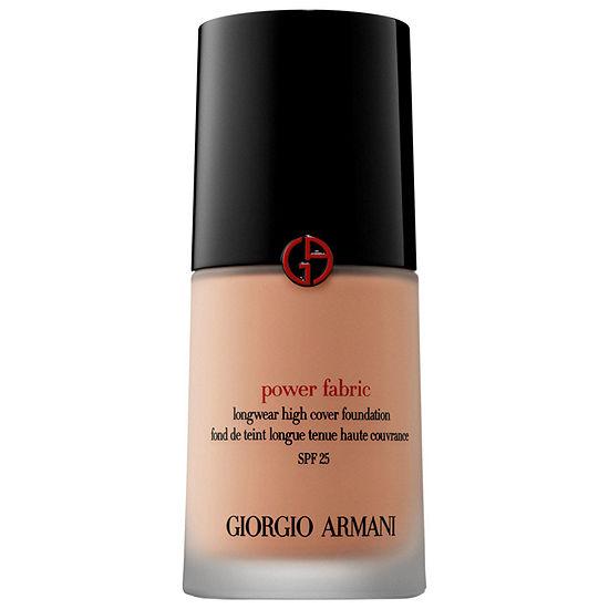 Giorgio Armani Beauty Power Fabric Longwear High Cover Foundation Spf 25