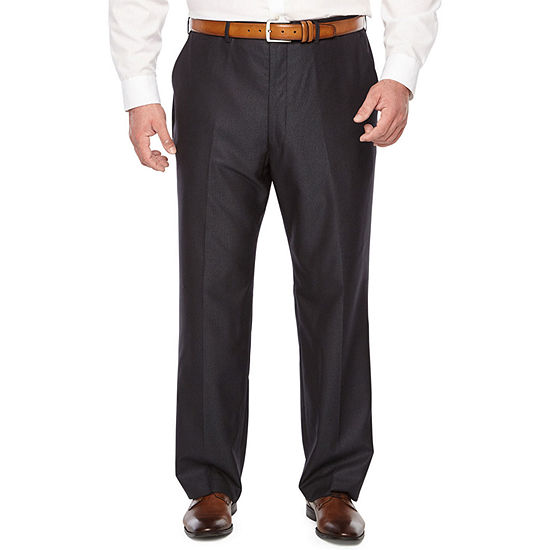 JF J.Ferrar Mens Striped Stretch Regular Fit Suit Pants - Big and Tall