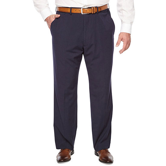 JF J.Ferrar Mens Striped Stretch Slim Fit Suit Pants - Big and Tall