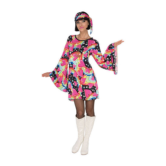 Womens Go-Go Girl Costume 3-pc. Dress Up Costume