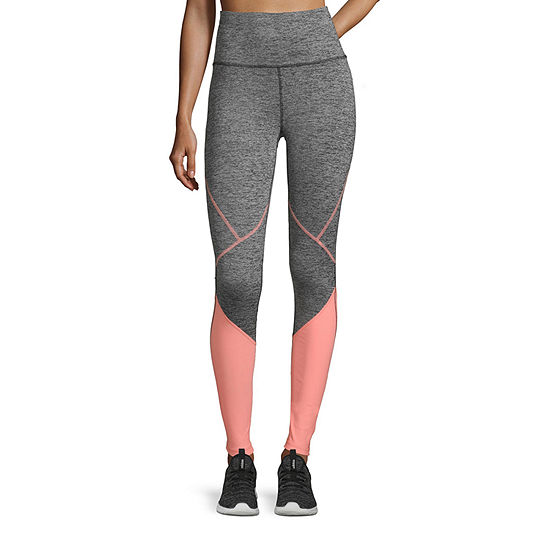 Xersion High Waisted Angled Color Block Legging- Tall