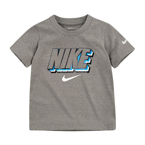 Nike-Toddler Boys Dri-Fit Round Neck Short Sleeve Graphic T-Shirt