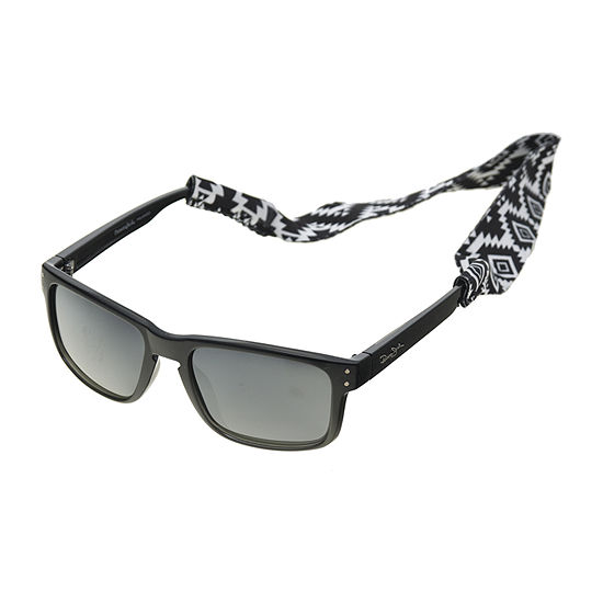 Panama Jack Mens Polarized Full Frame Wrap Around Sunglasses