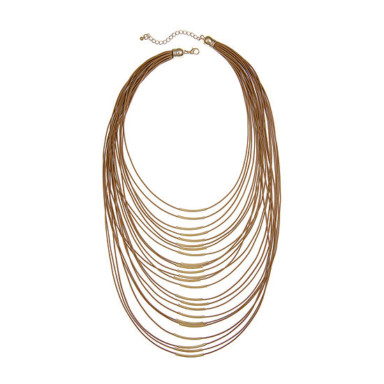 Mixit Naturals 20 Inch Statement Necklace
