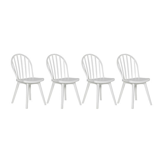 Resin Dining Chair-Set of 4