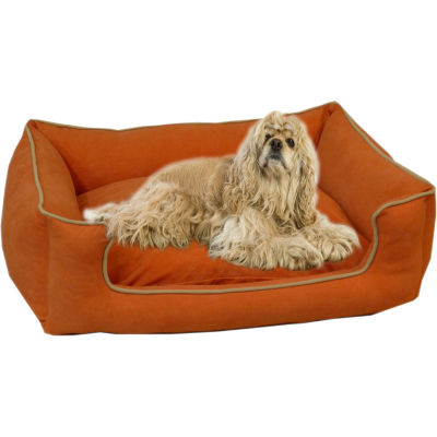 Carolina Pet Co. Microfiber Low Profile Kuddle Pet Bed Lounger