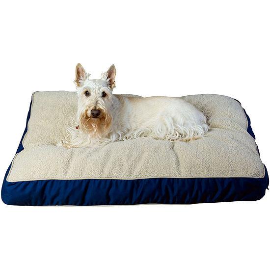 Carolina Pet Co Four Season Jamison With Cashmere Berber Top Pet Bed