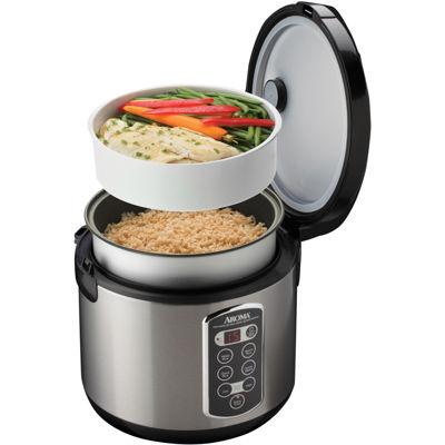 Aroma® 20-Cup Sensor Logic Rice Cooker & Steamer