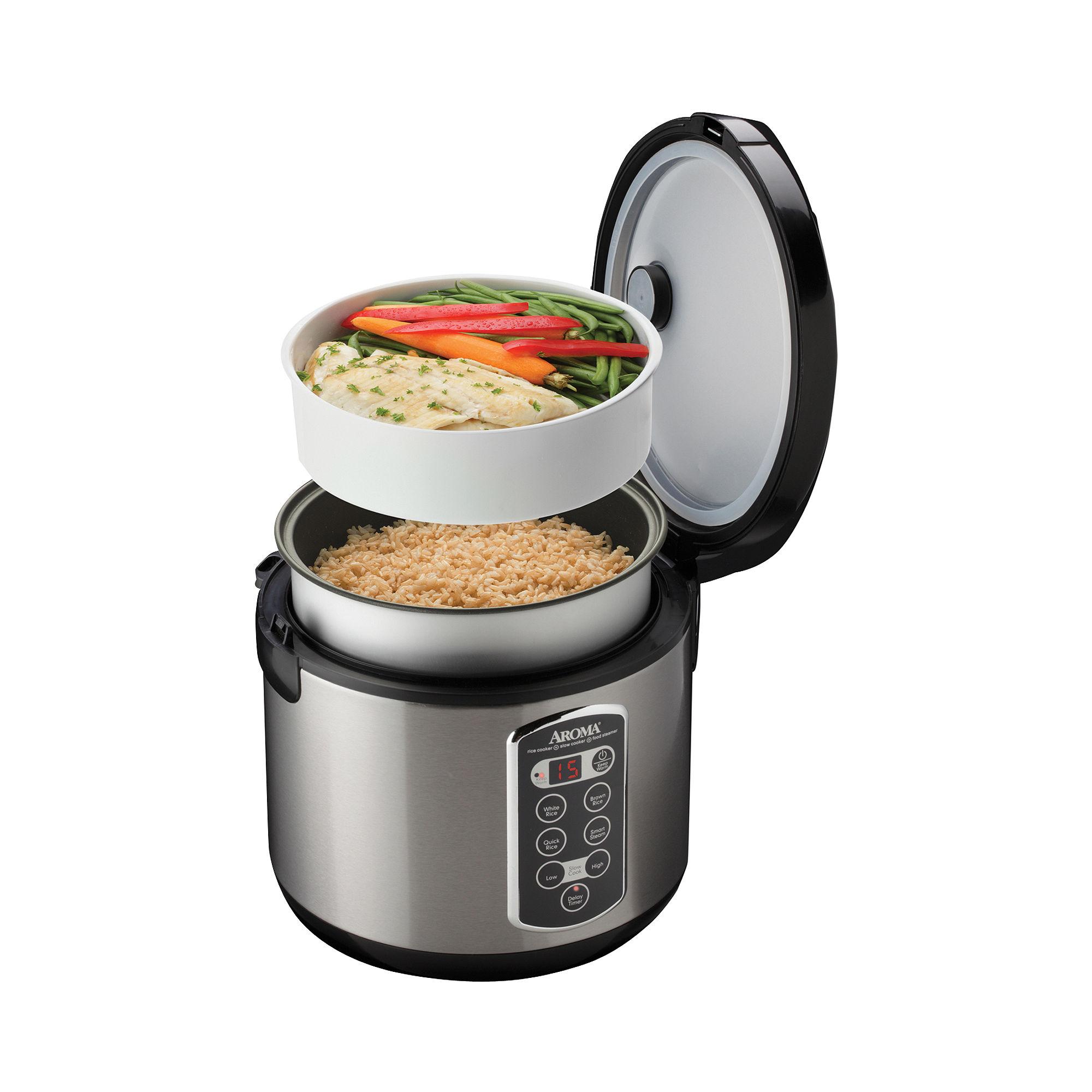 Aroma 20-Cup Sensor Logic Rice Cooker & Steamer