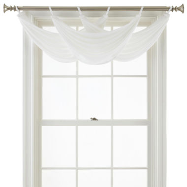 Royal Velvet® Ally Tab-Top Waterfall Valance