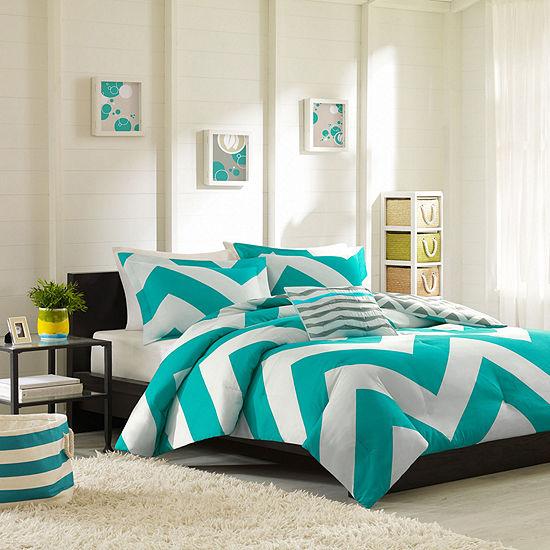 Mi Zone Aries Chevron Comforter Set