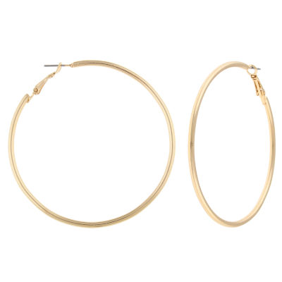Decree Freeform Hoop Earrings