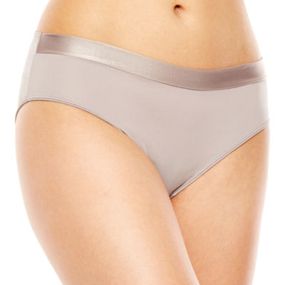 Ambrielle® Sparkle Trim Seamless High-Cut Panty