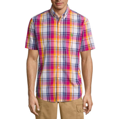 U.S. Polo Assn.® Short-Sleeve Colorblock Sportshirt