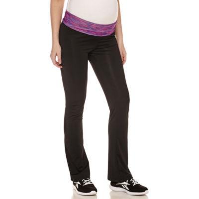 Planet Motherhood Knit Yoga Pants-Plus