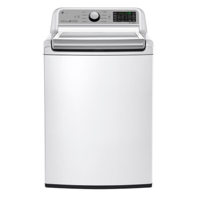 LG ENERGY STAR® 5.0 cu.ft. Capacity Smart Wi-Fi Enabled Top-Load Washer