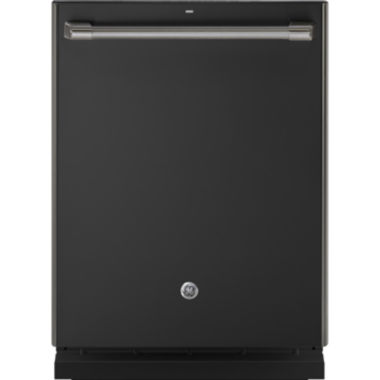 GE® Café™ ENERGY STAR® Series Stainless Interior Built-In Dishwasher with Hidden Controls