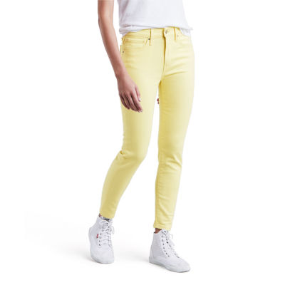 Levi's 721 Skinny Ankle Stretch Fabric Jeans