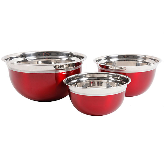 Rosamond 3 Pack Round Mixing Bowl