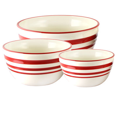 General Store Hollydale 3 pc Nesting Bowl Set