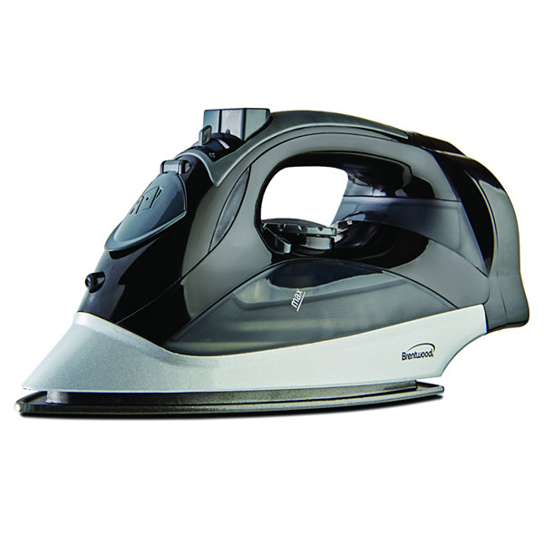 Brentwood Steam Iron With Retractable Cord