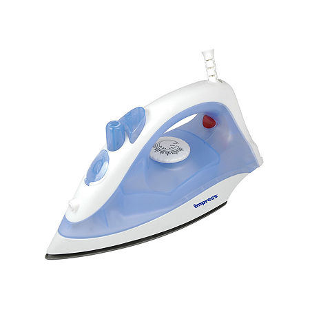 Impress Compact & Lightweight Steam & Dry Iron, One Size , White