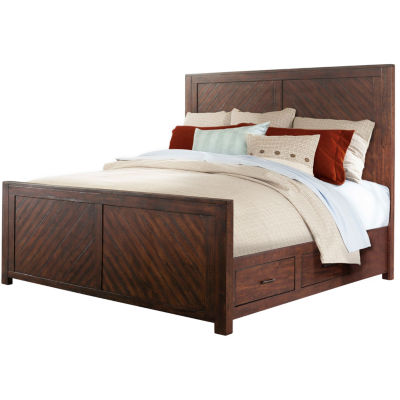 Montana Rustic Storage Bed
