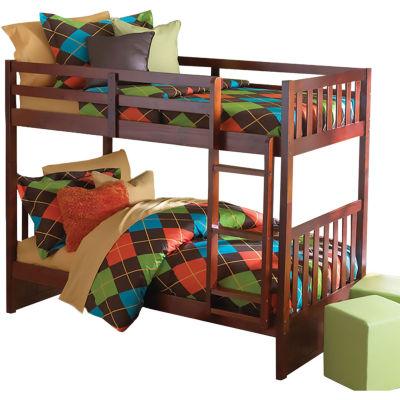 Braeburn Twin-Over-Twin Bunk Bed