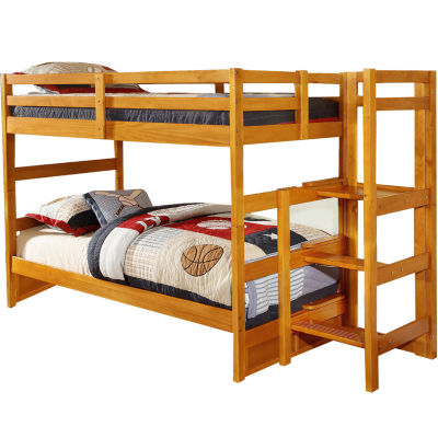 Franklin Twin-Over-Twin Easy Step Bunk Bed