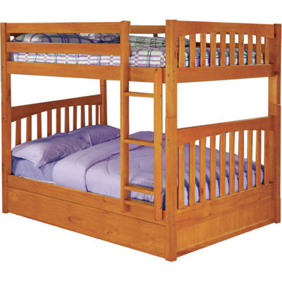 Parkview Full-Over-Full Bunk Bed with Slide-Out Trundle