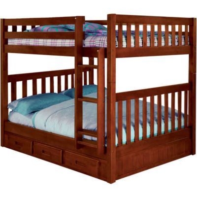 Parkview Full-Over-Full Bunk Bed with Storage