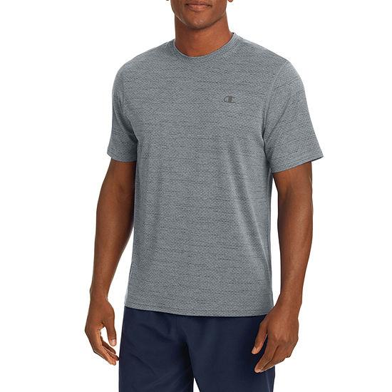 Champion Mens Crew Neck Short Sleeve Moisture Wicking T-Shirt
