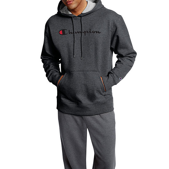 Champion Mens Hooded Neck Long Sleeve Hoodie