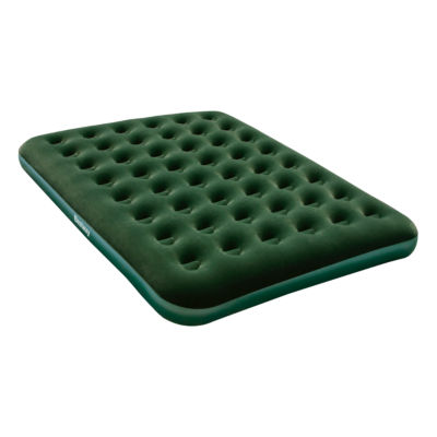 Bestway - Queen Flocked Air Bed with D Cell Pump