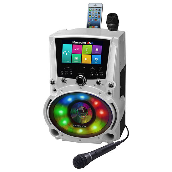 "All-In-One Wi-Fi Multimedia Karaoke System With 7"" LCD Touch Screen, Recording and Bluetooth Speaker"