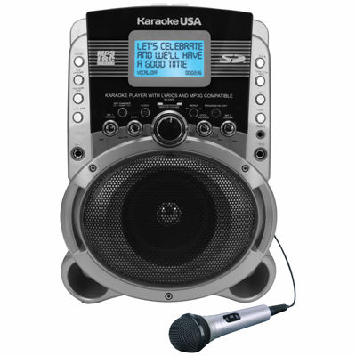 Portable Karaoke MP3+G Player with Video Output