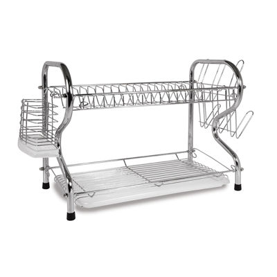 Better Chef 16-inch 2 Level Dish Rack