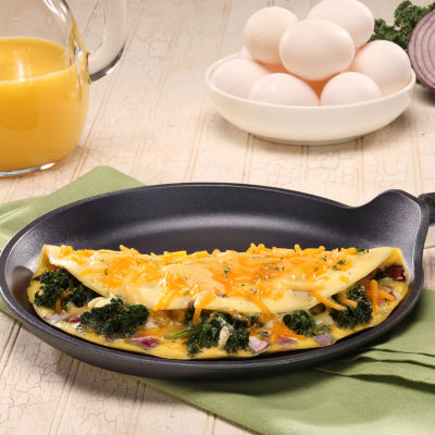 Swiss Diamond Classic 9.5in Crepe Pan Aluminum Non-Stick Griddle