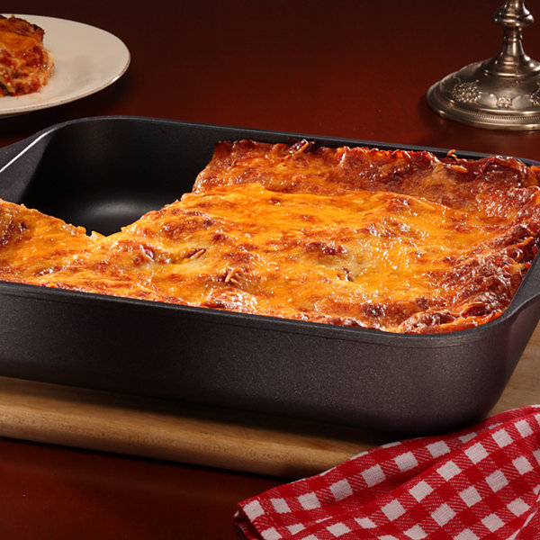 "Swiss Diamond Classic 12.5x10"" Roasting Pan Aluminum Non-Stick Roasting Pan"