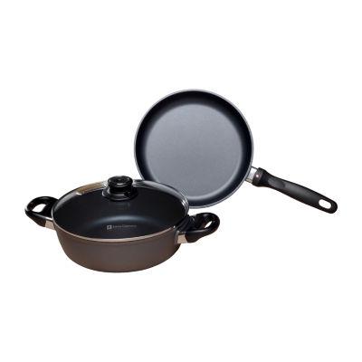 Swiss Diamond Classic 3-Pc. Fry Pan Set Aluminum Non-Stick Cookware Set