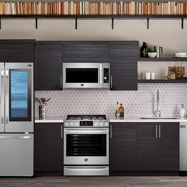 LG ENERGY STAR® 23.5 cu. ft. Smart Wi-Fi Enabled InstaView™ Door-in-Door® Counter-Depth Refrigerator