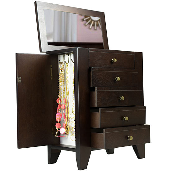 Chelsea Espresso Jewelry Box