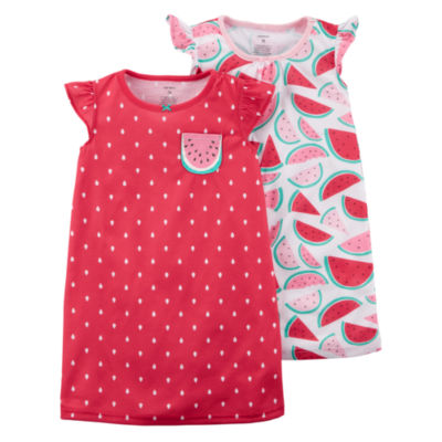 Carter's Sleeveless Nightgown-Toddler Girls