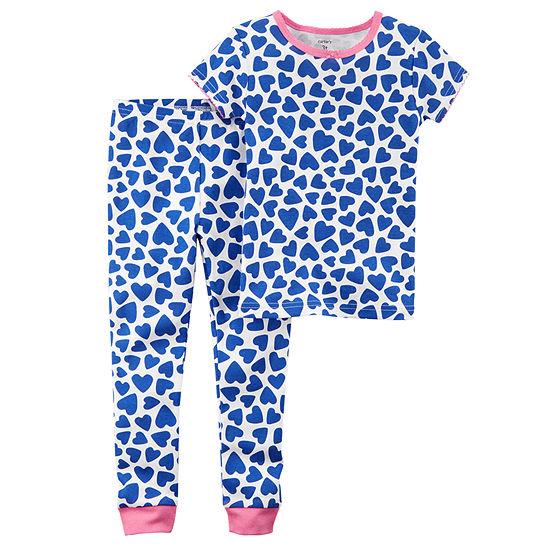 Carter's Toddler Girls 2-pc. Pajama Set