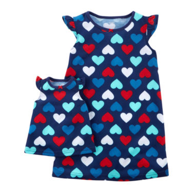 Carter's Short Sleeve Nightgown-Toddler Girls