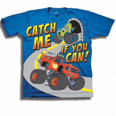 Toddler Boys Graphic Tees Blaze And The Monster Machines Graphic T-Shirt-Toddler Boys