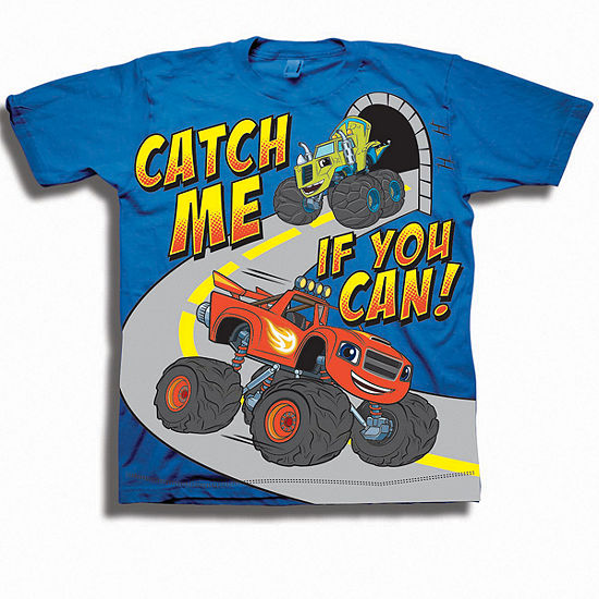 Disney Toddler Boys Graphic Tees Boys Crew Neck Short Sleeve Blaze And The Monster Machines Graphic T Shirt Toddler
