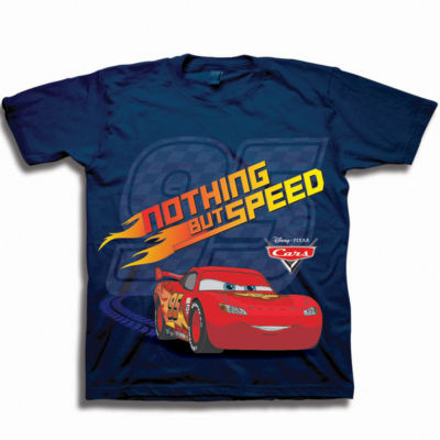 Toddler Boys Graphic Tees Cars Graphic T-Shirt-Toddler Boys