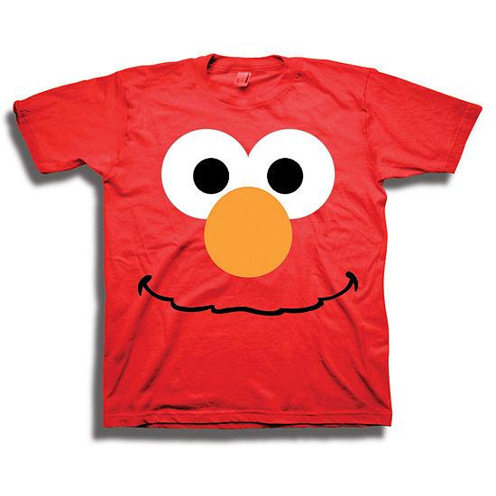 Elmo T-ShirtKids Sesame Street TopBoys Elmo TeeSesame Street Elmo shirt